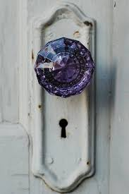 antique glass door knob original photo by lember on Etsy entryway
