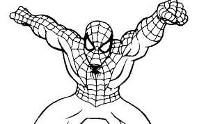 Disegno Di Spider Man Da Stampare Gratis E Colorare Uomo Ragno