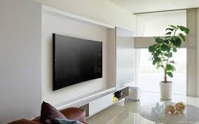 sony wall mounted tv flat