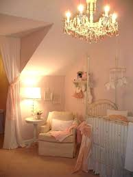 chandelier for baby girl nursery chandeliers little rooms cream white and pink room canada chandelier for baby