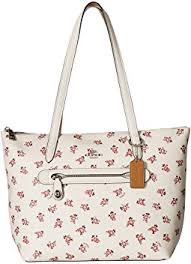 Taylor Tote with Floral Bloom Print