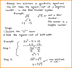 solve by taking square roots solve by taking square roots quadratic equations solve square roots jpg