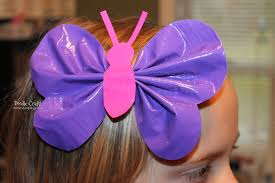 another wonderful duct tape hair bow