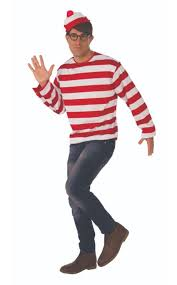 Adult Whereu0027s Waldo Costume