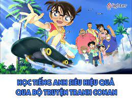 Truyện Conan Tiếng Anh