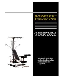 Bowflex Xtl Exercise Wall Chart Bowflex Xtl Manuals