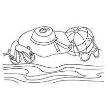 Free printable coloring pages for children that you can print out and color. Beach Coloring Pages 20 Free Printable Sheets To Color