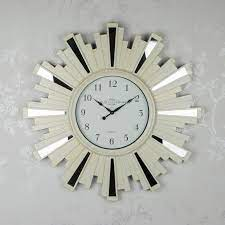 sunburst wall clock from dublin clockworks