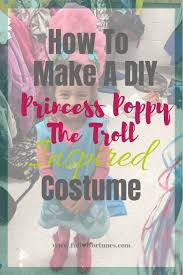want to make your own princess poppy the troll inspired dress too scroll down below to a free printable pattern template