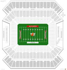 tampa bay buccaneers seating guide  raymond james stadium