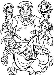 halloween costumes coloring pages halloween costume coloring pages halloween coloring pages monsters