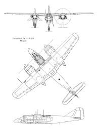 Focke wulf ta 154a 1 4