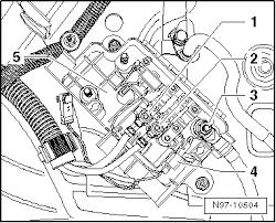 volkswagen workshop manuals > golf mk5 > vehicle electrics n97 10504