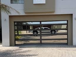 aluminium garage doors glass south africa sectional