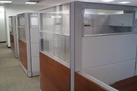 office with cubicles. Glass-office-cubicles Office With Cubicles