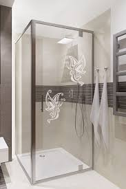 erfly art home stickers frosted decal bathroom door glass shower screen