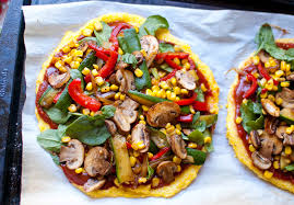 have you ever had polenta as the pizza crust it s kind of surprising how great it can be see i m following dr mcdougall s maximum weightloss guidelines