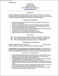 Model Resumes Free Resume Example And Writing Download