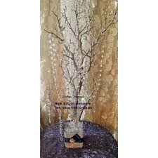 hanging crystals for wedding centerpieces. wedding wishing tree, bling manzanita tree centerpiece silver glitter centerpiece,bling hanging crystals for centerpieces g