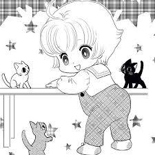 以前描いた猫マンガの扉絵画像整理してたら気がついたんですけど