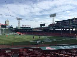 Fenway Park Football Seating Chart Fenway Park Transforms Into Football Field For Three Games