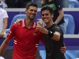 Federico Coria freut sich nach Klatsche gegen Novak Djokovic über ein  Selfie mit dem Weltranglisten-Ersten - Eurosport