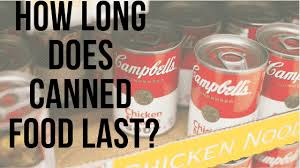 Canned Food Expiration Dates Chart How Long Does Canned Food Last Hint Longer Than You Think