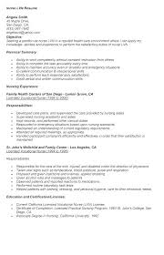 Nursing Resume Sample Nursing Template Nurse Resume Examples Sample ...