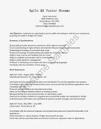 resume samples agile qa tester resumeuse this free sample agile qa tester  resume with objective skills