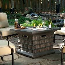 patio propane fire pit table outdoor coffee square gas outside pits for modern round uk