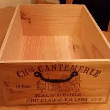 wine crate furniture. Raw French Wine Crate \u0026 Handle, Wood Crate, Rack, Box, Furniture