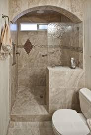 Walk In Tile Shower Walk In Shower No Door Carldrogocom Bathroom Remodel Window