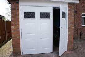 side hinged garage doors bq doors for garage style