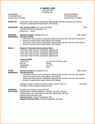 Examples Of Resumes Yale University Resume Samples Graduate