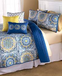 blue and yellow bedding. Perfect And QuiltSetsDecorativePillowsShamsBeddingBedroomOrange To Blue And Yellow Bedding D