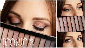 МАКИЯЖ с палеткой makeup revolution iconic 3 palette makeup revolution iconic 3 palette tutorial you