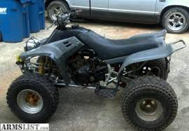yamaha warrior 350 for sale. 96 warrior. looking to trade or sale. for an ar15 sig pistol 40 cal. open almost all trades. let me know what you got yamaha warrior 350 sale