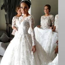 discount 2017 new celebrity wedding dresses with veil 2016 lace