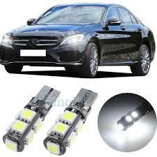 Mercedes Sprinter Side Light Bulb 2pcs For Mercedes Sprinter Sidelight 501 T10 White 6000k