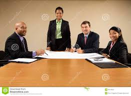 office meeting. Businesspeople Conference Meeting Office