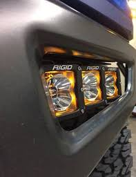 Rigid Fog Lights 2017 2019 Raptor Rigid Radiance Fog Light Kit For Sale