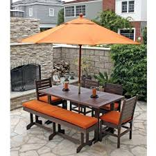 6 person patio dining set eagle one recycled plastic 6 foot patio dining set with intended 6 person patio dining set