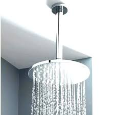 waterpik shower head installation cost ceiling flexible h