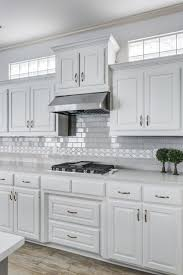 custom kitchen cabinets dallas. Contemporary Dallas Grey And White Kitchenwhite Cabinets With Subway Tile A Cool Custom  Kitchen Dallas Intended L