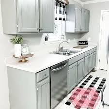 chalk painted kitchen cabinets shabby