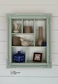 Old picture frame ideas Decor Shadowbox One Crazy House 15 Pinworthy Picture Frame Project Ideas