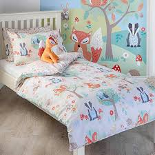 paoletti woodland toddler duvet cover set