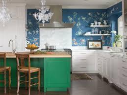 Walls Painting Ideas Kitchen Wallpaper Green Kitchen Island White Kitchen  Cabinets Fancy Chandelier