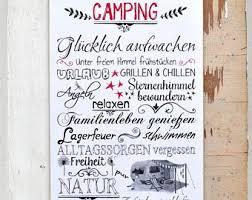 Camping Schild Etsy