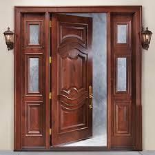 best tremendous wooden single front door designs fo renavations km